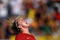 Amalie Thestrup of AS Roma  reacts <br /> Roma 8/9/2019 Stadio Tre Fontane <br /> Luisa Petrucci Trophy 2019<br /> AS Roma - Paris Saint Germain<br /> Photo Andrea Staccioli / Insidefoto