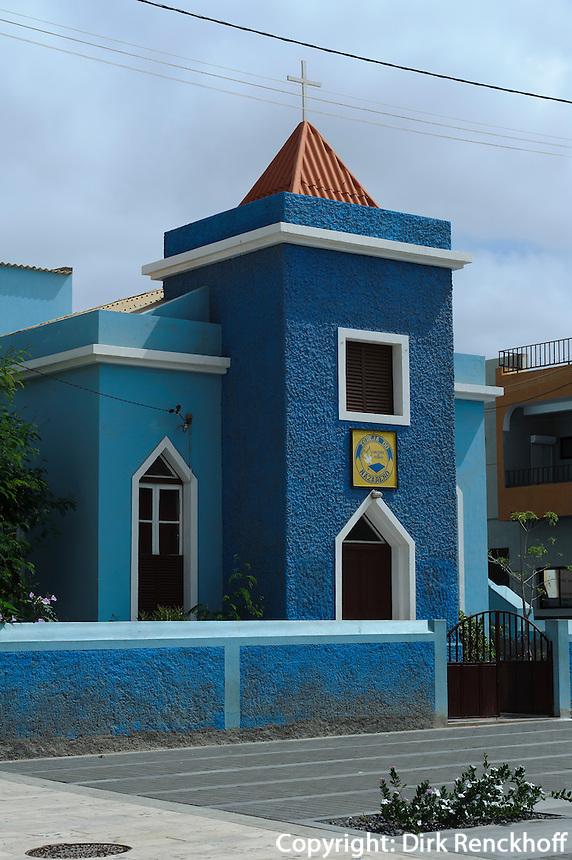Nnazarener-Kirche in Espargos, Sal, Kapverden, Afrika