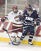 Chris Collins, UNH ? - The Boston College Eagles and University of New Hampshire earned a 3-3 tie on Thursday, March 2, 2006, on Senior Night at Kelley Rink at Conte Forum in Chestnut Hill, MA.  Boston College honored its three seniors, captain Peter Harrold and alternate captains Chris Collins and Stephen Gionta, before the game.