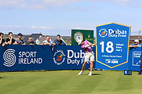 Louis Oosthuizen (RSA) on the 18th tee during the Pro-Am of the Irish Open at LaHinch Golf Club, LaHinch, Co. Clare on Wednesday 3rd July 2019.<br /> Picture:  Thos Caffrey / Golffile<br /> <br /> All photos usage must carry mandatory copyright credit (© Golffile | Thos Caffrey)