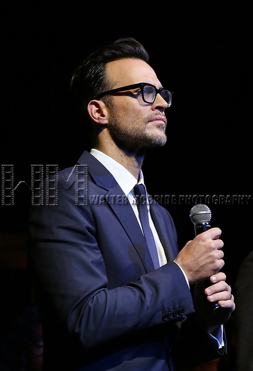 Cheyenne Jackson on stage at the  2017 Dramatists Guild Foundation Gala presentation at Gotham Hall on November 6, 2017 in New York City.