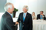 ROTTERDAM - Irving van Nes is benoemd tot erelid. Algemene Leden Vergadering van de KNHB (Koninklijke Nederlandse Hockey Bond). FOTO KOEN SUYK