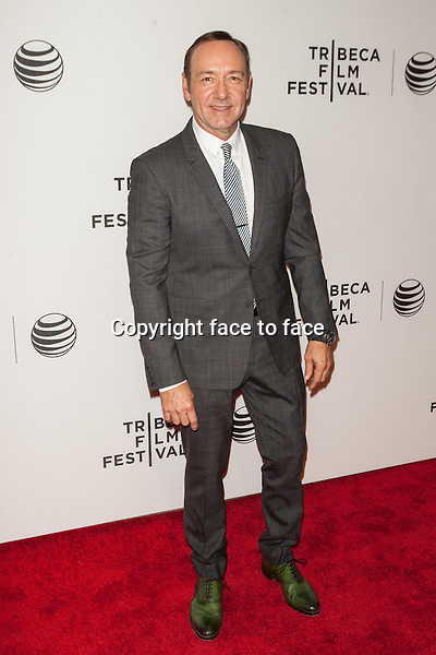 NEW YORK, NY - APRIL 21: Kevin Spacey attends Tribeca Talks: After the Movie: 'NOW: In the Wings on a World Stage' during the 2014 Tribeca Film Festival at BMCC Tribeca PAC on April 21, 2014 in New York City.<br /> Credit: MediaPunch/face to face<br /> - Germany, Austria, Switzerland, Eastern Europe, Australia, UK, USA, Taiwan, Singapore, China, Malaysia, Thailand, Sweden, Estonia, Latvia and Lithuania rights only -