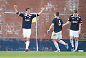 BRIAN GRAHAM SCORES RAITH'S FIRST GOAL