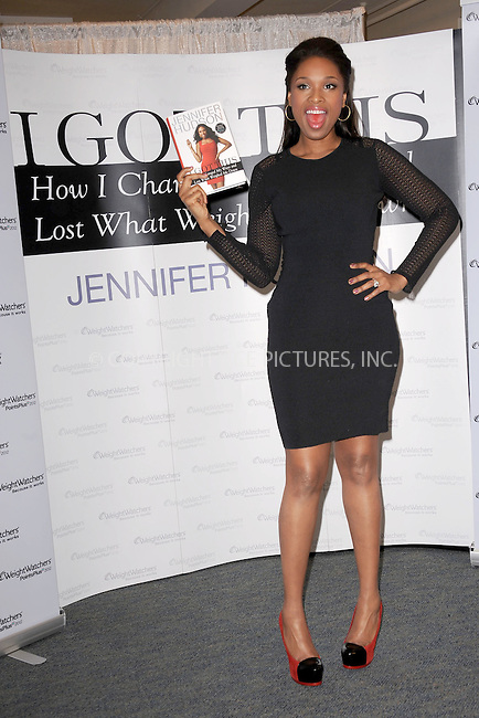 "WWW.ACEPIXS.COM . . . . . .January 11, 2012, New York City.... Academy Award-winning actress and Grammy Award-winning recording artist Jennifer Hudson celebrates the release of her memoir, ""I Got This"", with a book signing at a New York Weight Watchers center on January 11, 2012 in New York City. ....Please byline: KRISTIN CALLAHAN - ACEPIXS.COM.. . . . . . ..Ace Pictures, Inc: ..tel: (212) 243 8787 or (646) 769 0430..e-mail: info@acepixs.com..web: http://www.acepixs.com ."