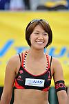 Miwa Asao (JPN), .MAY 4, 2012 - Beach Volleyball : JBV Tour 2012 Sports Club NAS Open at Odaiba Beach, Tokyo, Japan. (Photo by Jun Tsukida/AFLO SPORT) [0003].