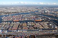 Deutschland, Hamburg, Hafen, Containerhafen, Euro Kai, Container Terminal Waltershof, Transport, Logistik, Waltershofer Hafen
