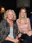 Deirdre Allen and Kim Boyle pictured at the Carmel Boyle concert in the Droichead Arts Centre. Photo:Colin Bell/pressphotos.ie