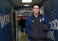 Blackburn Rovers Lewis Travis arrives at the ground <br /> <br /> Photographer Rachel Holborn/CameraSport<br /> <br /> The EFL Sky Bet League One - Blackburn Rovers v Shrewsbury Town - Saturday 13th January 2018 - Ewood Park - Blackburn<br /> <br /> World Copyright &copy; 2018 CameraSport. All rights reserved. 43 Linden Ave. Countesthorpe. Leicester. England. LE8 5PG - Tel: +44 (0) 116 277 4147 - admin@camerasport.com - www.camerasport.com