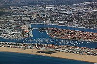 aerial photograph Newport Beach,  Orange County, California
