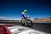 September 5th 2017, Circuito de Navarra, Spain; Cycling, Vuelta a Espana Stage 16, individual time trial; Davide Villella