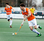 WASSENAAR - Hoofdklasse hockey heren, HGC-Bloemendaal (0-5)  . Thierry Brinkman (Bldaal) COPYRIGHT KOEN SUYK