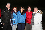 Michael O'Loughlin, Anna O'Loughlin, Fern Thonghip, Jane Campbell and Cora Keogh at the Ghost Tour at Millmount...(Photo credit should read Jenny Matthews www.newsfile.ie)....This Picture has been sent you under the condtions enclosed by:.Newsfile Ltd..The Studio,.Millmount Abbey,.Drogheda,.Co Meath..Ireland..Tel: +353(0)41-9871240.Fax: +353(0)41-9871260.GSM: +353(0)86-2500958.email: pictures@newsfile.ie.www.newsfile.ie.