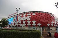 Dunkele Wolken über den Spartak Stadion - 19.06.2018: Polen vs. Senegal, Gruppe H, Spartak Stadium Moskau