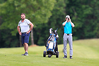 Brian and Sam Murphy (Portumna) ranging a shoot on the 14th during Round 4 of the Connacht Stroke Play Championship 2019 at Portumna Golf Club, Portumna, Co. Galway, Ireland. 09/06/19<br /> <br /> Picture: Thos Caffrey / Golffile<br /> <br /> All photos usage must carry mandatory copyright credit (© Golffile | Thos Caffrey)