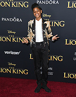 "09 July 2019 - Hollywood, California - JD McCrary. Disney's ""The Lion King"" Los Angeles Premiere held at Dolby Theatre. Photo Credit: Birdie Thompson/AdMedia"
