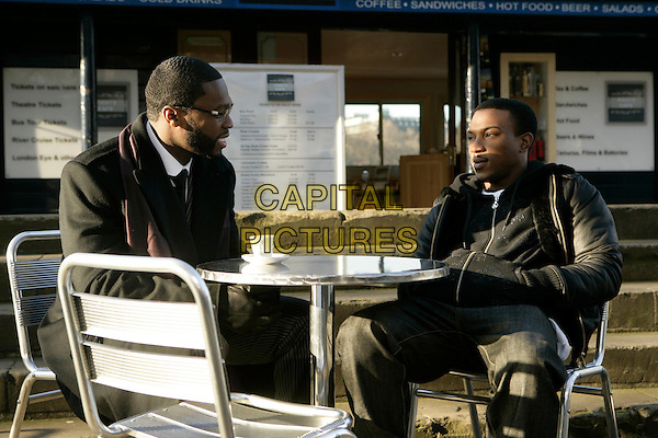Curtis '50 Cent' Jackson, Ashley Walters<br /> in Dead Man Running (2009) <br /> *Filmstill - Editorial Use Only*<br /> CAP/NFS<br /> Image supplied by Capital Pictures