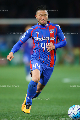 Takuma Abe (FC Tokyo), <br /> FEBRUARY 9, 2016 - Football / Soccer : <br /> AFC Champions League 2016 Play-off <br /> between FC Tokyo 9-0 Chonburi FC <br /> at Tokyo Stadium, Tokyo, Japan. <br /> (Photo by YUTAKA/AFLO SPORT)