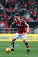 Jamie Paterson of Bristol City runs with the ball during Bristol City vs Norwich City, Sky Bet EFL Championship Football at Ashton Gate on 13th January 2018