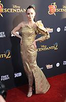 www.acepixs.com<br /> <br /> July 11 2017, LA<br /> <br /> Sofia Carson arriving at the premiere of Disney Channel's 'Descendants 2' on July 11, 2017 in Los Angeles, California. <br /> <br /> By Line: Peter West/ACE Pictures<br /> <br /> <br /> ACE Pictures Inc<br /> Tel: 6467670430<br /> Email: info@acepixs.com<br /> www.acepixs.com
