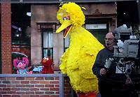 NOV 08 Sesame Street Visits NBC's Today
