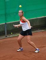 August 8, 2014, Netherlands, Rotterdam, TV Victoria, Tennis, National Junior Championships, NJK,   Inger van Dijkman (NED)<br /> Photo: Tennisimages/Henk Koster