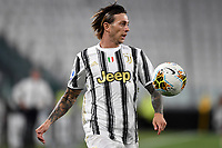 Federico Bernardeschi of Juventus in action during the Serie A football match between Juventus FC and AS Roma at Juventus stadium in Turin (Italy), August 1st, 2020. Play resumes behind closed doors following the outbreak of the coronavirus disease. Photo Andrea Staccioli / Insidefoto