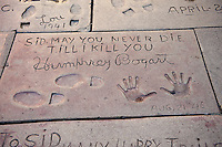 Humphry Bogart, Hand - Footprint, Impressions, Grauman's, Chinese, Theater, Hollywood, CA
