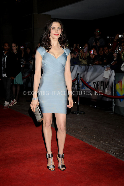 WWW.ACEPIXS.COM . . . . .....September 10, 2008. Toronto, Canada....Actress Rachel Weisz attends the 'Brothers Bloom' Press Premiere during the 2008 Toronto International Film Festival at the Reyerson Theatre on September 9, 2008 in Toronto, Canada...  ....Please byline: Kristin Callahan - ACEPIXS.COM..... *** ***..Ace Pictures, Inc:  ..Philip Vaughan (646) 769 0430..e-mail: info@acepixs.com..web: http://www.acepixs.com