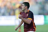 Esultanza Iago Falque durante l'incontro di calcio di Serie A   Frosinone - Roma   allo  Stadio Matusa di   di Frosinone ,12  Settembre 2015