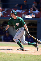 March 23, 2010:  Second Baseman Jeff Onstott of the Dartmouth Big Green during a game at the Chain of Lakes Stadium in Winter Haven, FL.  Photo By Mike Janes/Four Seam Images