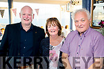 Tralee Bay Sailing Club Summer Party on Friday were<br /> Left to right: Commodore Gary Fort, Teresa Nash, Eddie Barry
