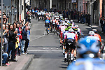 Action from Stage 1 of Il Giro di Sicilia running 165km from Catania to Milazzo, Italy. 3rd April 2019.<br /> Picture: LaPresse/Fabio Ferrari | Cyclefile<br /> <br /> <br /> All photos usage must carry mandatory copyright credit (© Cyclefile | LaPresse/Fabio Ferrari)