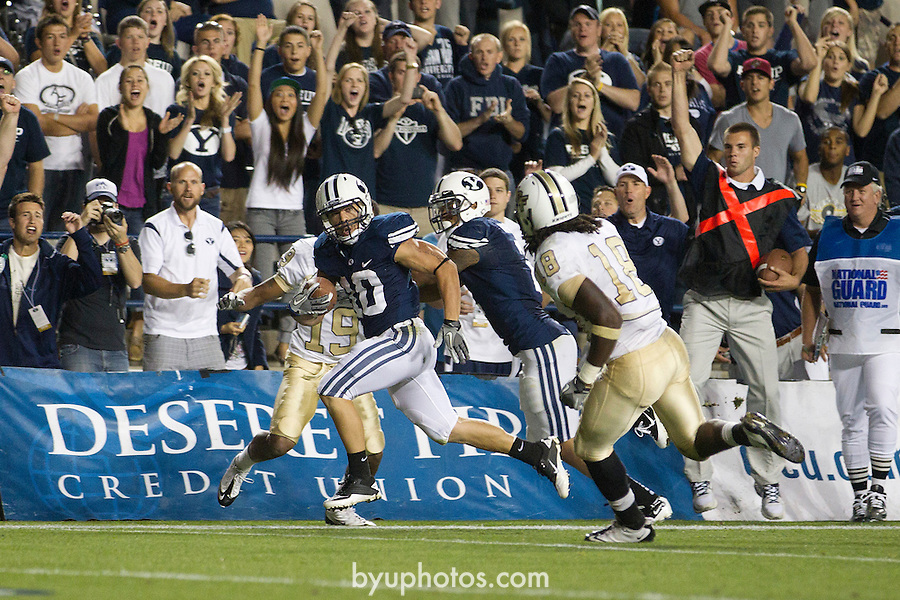 _2ST8559.jpg..The BYU Football Team defeats UCF 24-17 at Lavell Edwards Stadium in Provo, Utah. ..BYU-24.UCF-17..September 23, 2011..Photo by Mark A. Philbrick/BYU..© BYU PHOTO 2011.All Rights Reserved.photo@byu.edu  (801)422-7322