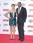 "Allison Holker and Twitch attends The Premiere Of Marvel's ""Ant-Man"" held at The Dolby Theatre  in Hollywood, California on June 29,2015                                                                               © 2015 Hollywood Press Agency"