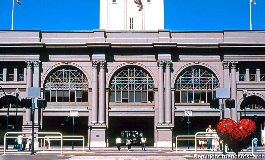 San Francisco:  Ferry Building Facade.