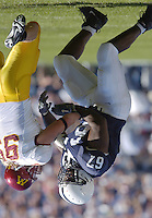 01 October 2005:  Levi Brown (67)..Penn State Nittany Lions  defeated the Minnesota Golden Gophers  44-14 September 1, 2005 at Beaver Stadium in State College, PA..