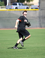 Roger Kieschnick / San Francisco Giants 2008 Instructional League..Photo by:  Bill Mitchell/Four Seam Images