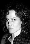 Sigourney Weaver pictured in New York City in 1983.
