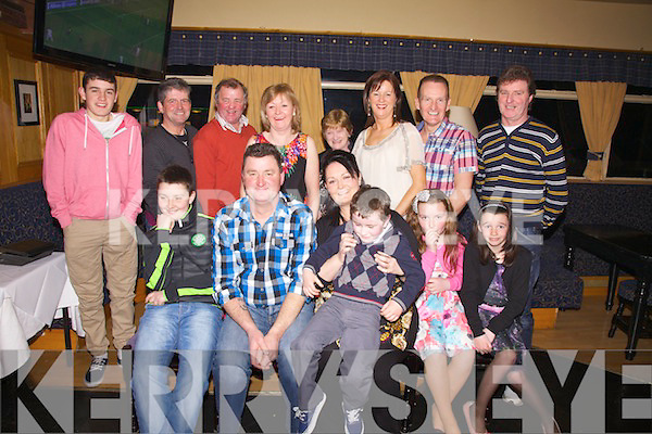 Frank McCarthy From Killoe Celebrated His 50th Birthday With Family At The Ring Of Kerry Hotel
