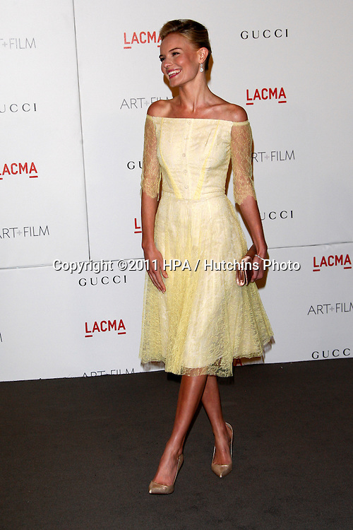 LOS ANGELES - NOV 5:  Kate Bosworth arrives at the LACMA Art + Film Gala at LA County Museum of Art on November 5, 2011 in Los Angeles, CA