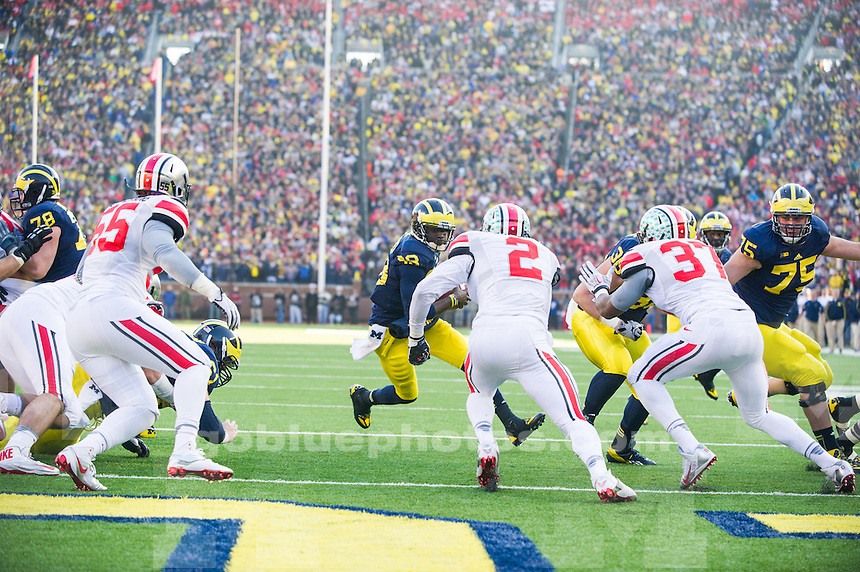The University of Michigan football played Ohio State University on Saturday, Nov. 30, 2013 at Michigan Stadium in Ann Arbor, Michigan.