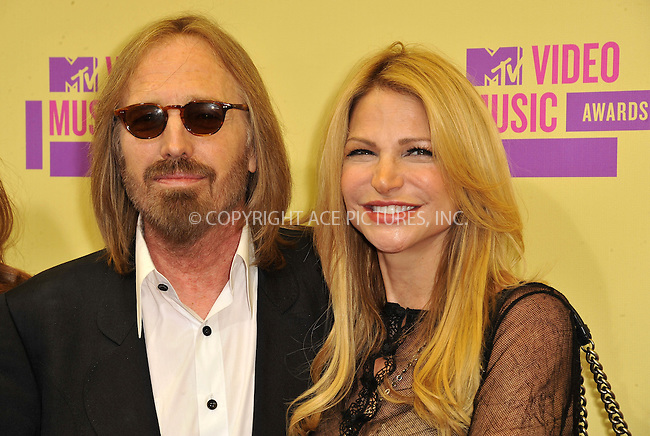 WWW.ACEPIXS.COM....September 6, 2012, Los Angeles, CA.......Tom Petty and Dana York arriving at the 2012 MTV Video Awards at the Staples Center on September 6, 2012 in Los Angeles, California. ..........By Line: Peter West/ACE Pictures....ACE Pictures, Inc..Tel: 646 769 0430..Email: info@acepixs.com