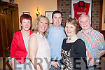Birthday celebrations for Joan Lane from Abbeyfeale( 2nd right) pictured with family and friends last Saturday night in Leen's Hotel, Abbeyfeale, also pictured l-r: Maura Lane, Kathleen Murphy, Pat Lane, Joan Lane and Denis Murphy.