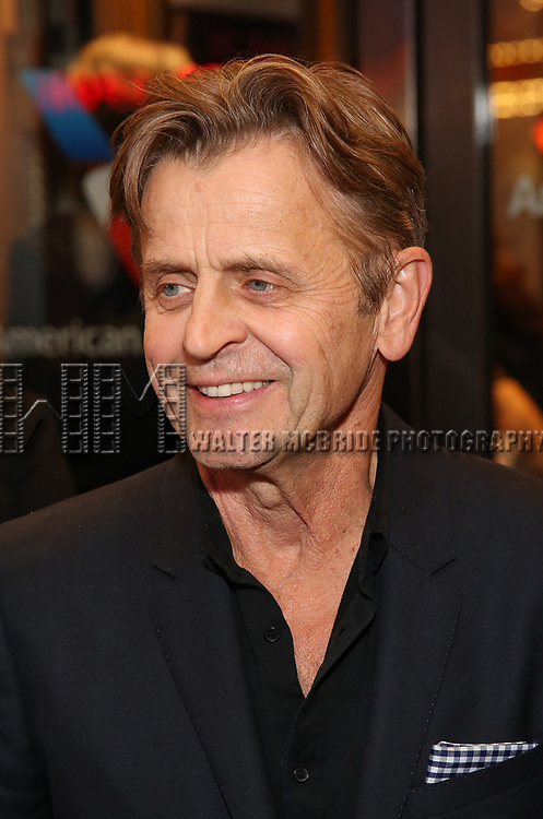 Mikhail Baryshnikov attends the Broadway Opening Night performance of The Roundabout Theatre Company production of 'Time and The Conways'  on October 10, 2017 at the American Airlines Theatre in New York City.