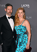 Amy Adams &amp; Darren Le Gallo at the 2017 LACMA Art+Film Gala at the Los Angeles County Museum of Art, Los Angeles, USA 04 Nov. 2017<br /> Picture: Paul Smith/Featureflash/SilverHub 0208 004 5359 sales@silverhubmedia.com