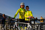 Killorglin Cycling Club were Micheál Ó Shea, Tadhg Ó Shea,  at the Lacey cup cycle race in Tralee on Sunday.