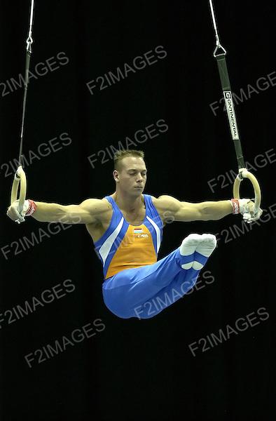 World Cup Gymnastics Birmingham England 2004<br /> Photos by Alan Edwards