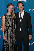 "WESTWOOD, LOS ANGELES, CA, USA - MARCH 22: Mette Ravnkilde Nielsen, Aaron Moulton at the Geffen Playhouse's Annual ""Backstage At The Geffen"" Gala held at Geffen Playhouse on March 22, 2014 in Westwood, Los Angeles, California, United States. (Photo by Xavier Collin/Celebrity Monitor)"
