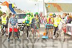 Cyclist and marchers who marched in the St Patriccks Day Parade in Kilflynn on Saturday.....